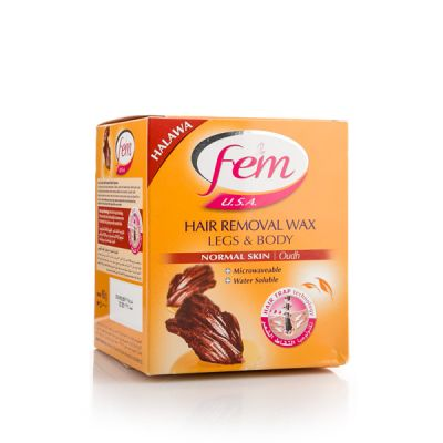 Fem Hair Removal Wax With Oud Suit Normal Skin - 450 Gm
