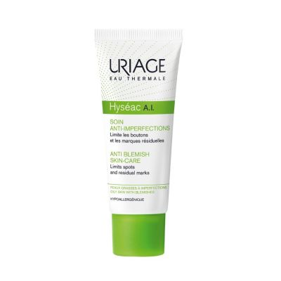 Uriage Hyseac Ai Care Cream Anti Blemish Skin Helps To Eliminate Blemishes Quickly And Limits Residual Marks - 40 Ml