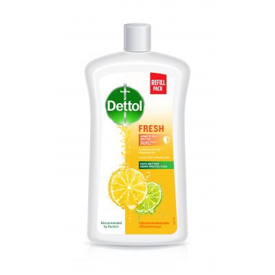 Dettol, Hand Wash, Antiseptic, Fresh With Citrus And Orange Fragrance - 1 L