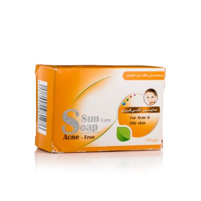 SANA SUN CARE SOAP ACNE-FREE 100GM